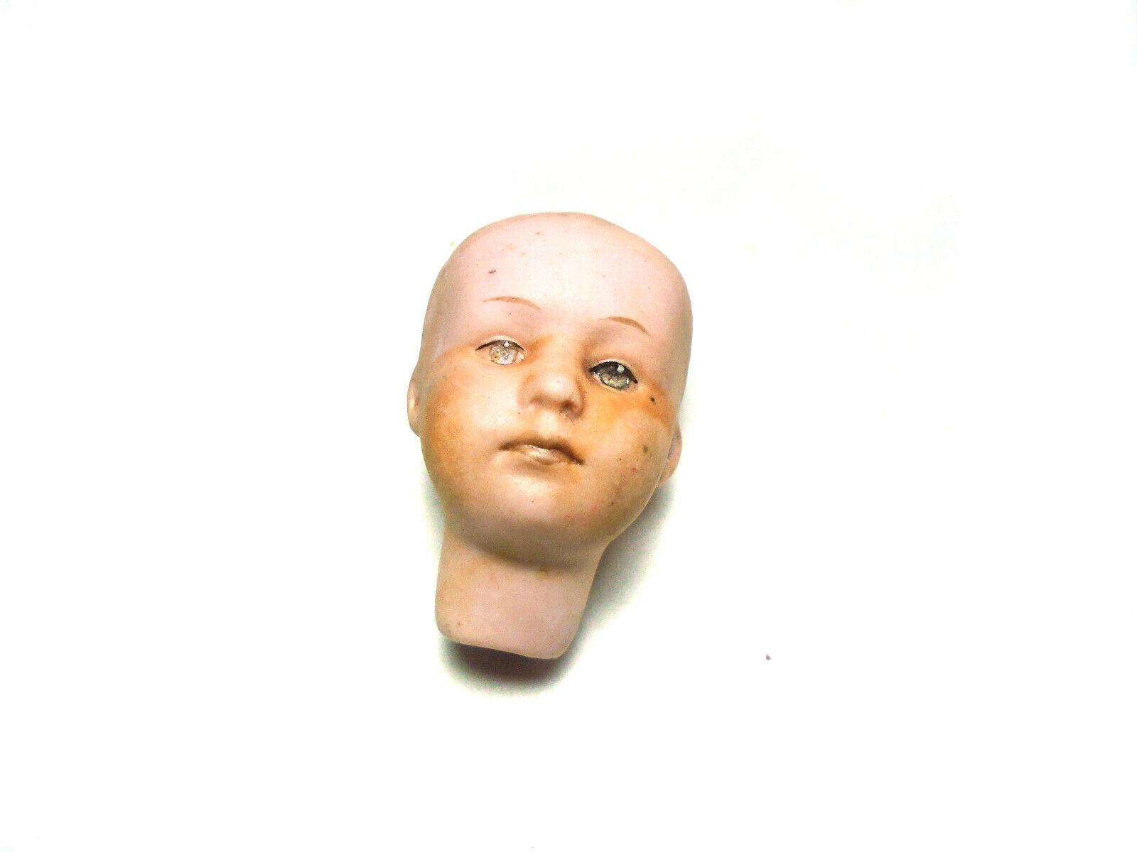 Antico Bisque Testa di bambola, Gebr. solco,  2   servizio onesto