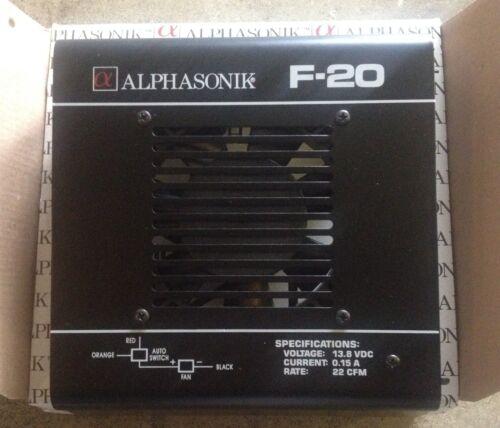 NEW Old School Alphasonik F-20 fan shroud assy,RARE,VINTAGE,NIB,NOS