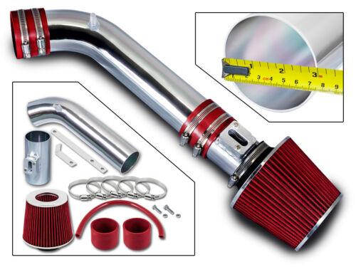 BCP RED For 2006-2008 Infiniti M35 3.5 V6 Sedan Short Ram Air Intake Kit Filter