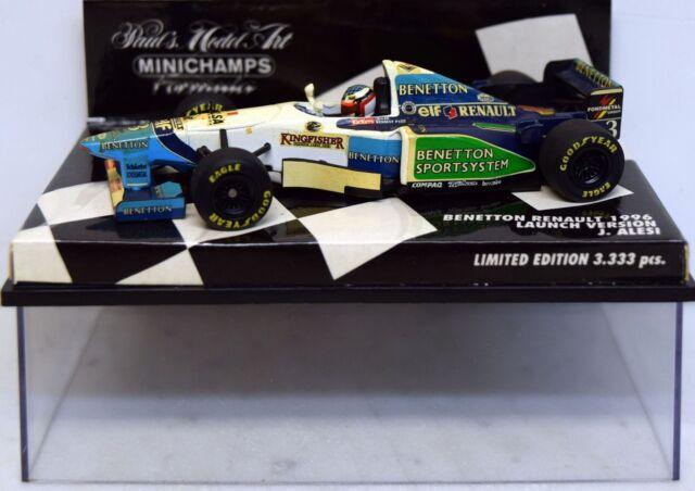 Minichamps 1:43 430960093 Benetton Renault 1996 J.Alesi, Launch Version