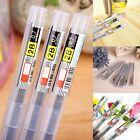 6PCS HB/2B 0.5 MM / 0.7 MM Resin Automatic Pencil Writing Tools Lead Refills