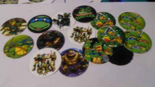 Pre Cut One Inch Bottle Cap Images Teenage Ninja Mutant Turtles  Free Shipping