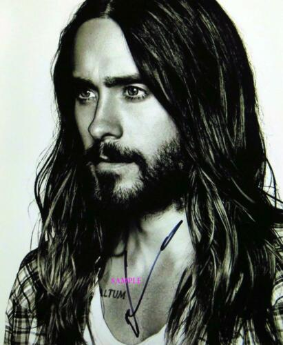 JARED LETO #2 REPRINT SIGNED 8X10 PHOTO AUTOGRAPHED CHRISTMAS GIFT MAN CAVE