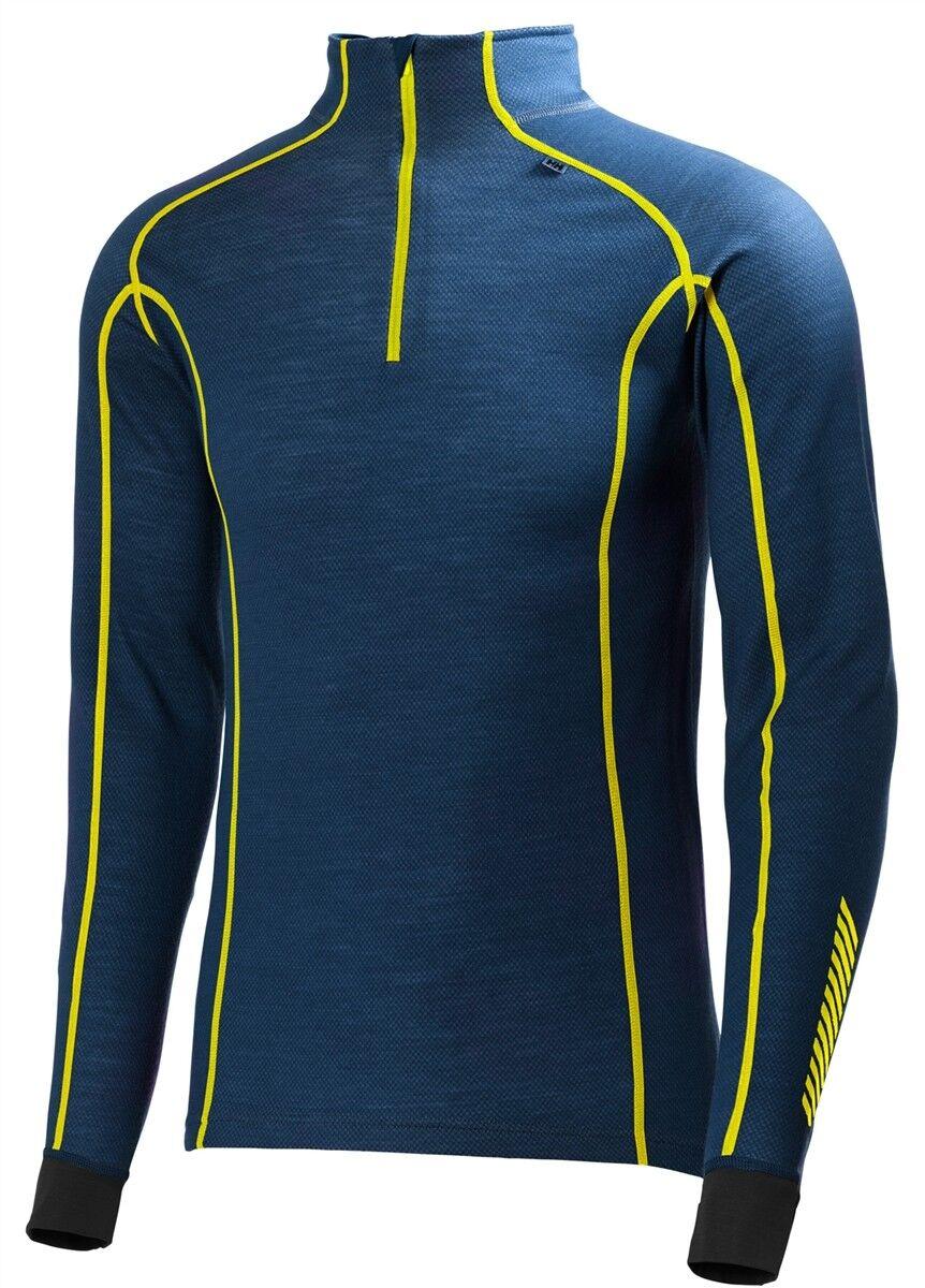 Helly Hansen Men's  Warm Freeze 1 2 zip Base Layer Top  guaranteed