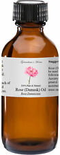 Rose Essential Oil - 4 oz - 100% Pure and Natural - Free Shipping - US Seller