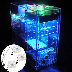 Personalized Diy Clear Acrylic Computer Desktop Case Box F Water