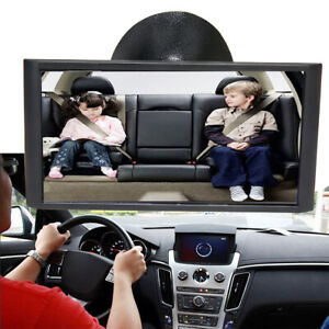 Back Baby Mirror Car Seat Cover for Infant Child Toddler Rearward Safety View