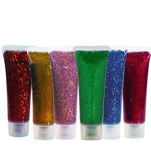 Schminke Glitzer Glitter Gel Tube Eulenspiegel Marke Tolle Farben