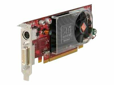 ATI Radeon HD 3450 256MB DDR2 PCI Express x16 DMS-59//S-Video Card Dell Y104D