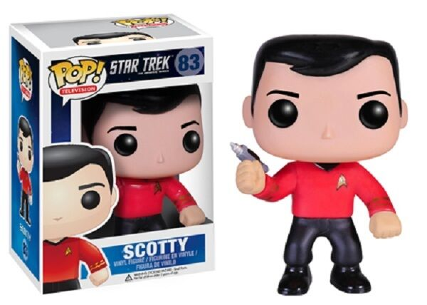 Pop  Star Trek Scotty Vinyl Figure by Funko