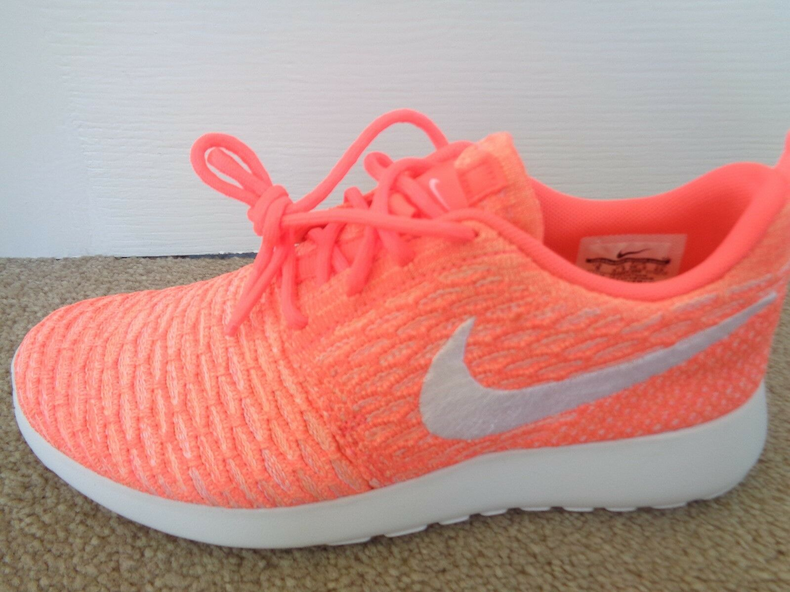 Nike Roshe one Flyknit wmns trainers shoes 704927 36.5 800 uk 3.5 eu 36.5 704927 us 6 NEW f9b353