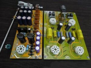 Image Is Loading Famous Circuit 6SN7 Tube Preamplifier DIY KIT Refer
