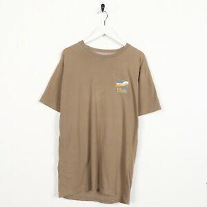 Vintage-FILA-Big-Back-Logo-T-Shirt-Tee-Beige-XL