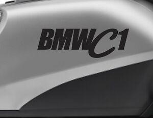 Details Zu Bmw C1 Motorbike Bike Logo Decals Custom Colour Vinyl Sticker Upto 18cm Wi