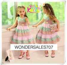 Rose Kelly beautiful girl summer dress-bestido para niñas sizes/tallas 2,3,4,5,6