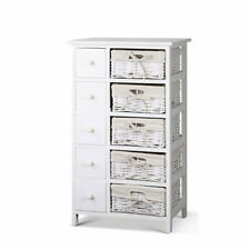 Artiss Chest of Drawers Dresser Bedroom Storage Cabinet Basket Table Hallway