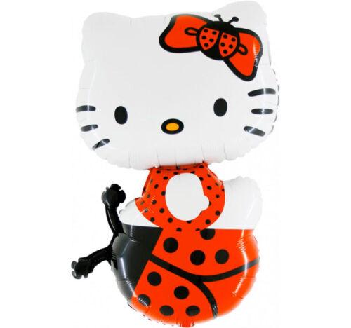 Hello Kitty mariquitas XL folienballon cumpleaños helio globo fiesta decorativas