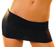 Skirt L/XL Black Micro Mini Made USA