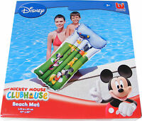 Disney Mickey Mouse Inflatable Mattress Lilo Beach Mat Air Bed For Swimming Pool