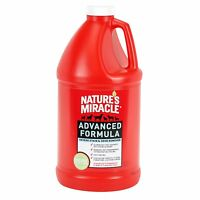 Nature`s Miracle Advanced Stain And Odor Formula 64oz (1/2 Gallon) , New, Free S