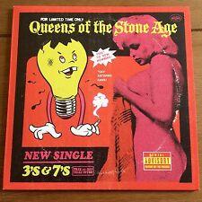 "QUEENS OF THE STONE AGE - 3'S & 7'S  7"" VINYL"