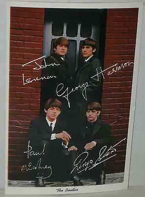The Beatles 1964 Postcard Souvenir # 4DK-896 Mint & Unused Original