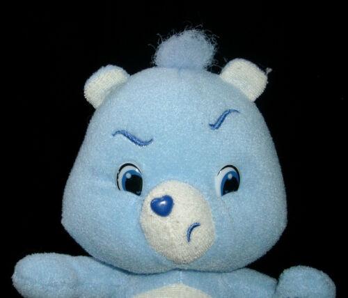 Teddys 8  Mürrische Care Bear 2007 Blau Regen Wolke Plüschtier Spielzeug Puppe Weich