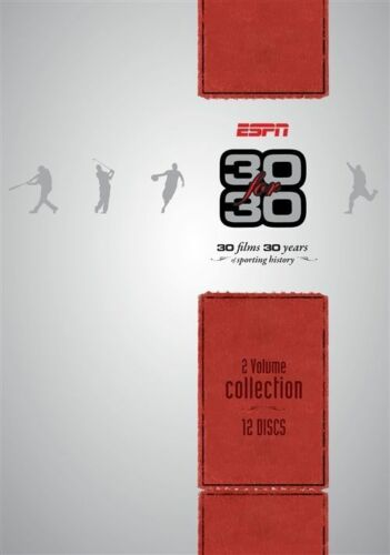 1 of 1 - ESPN - 30 For 30 SPORTS BOXSET 12-DISC SET!  AUS MADE BRAND NEW FREE POSTAGE!