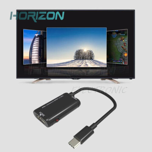 USB-C Type C to HDMI Adapter USB3.1 Cable Converter For MHL Android Phone Tablet