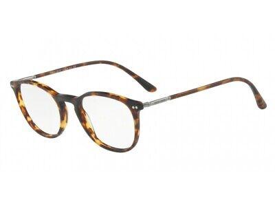 Consegna Veloce Montatura Occhiali Da Vista Giorgio Armani Autentici Ar7125 Havana 5011