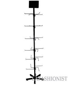 Accessory-Hat-Bracelet-Necklace-Display-Retail-Rack-Spinner-Metal-Stand-Floor
