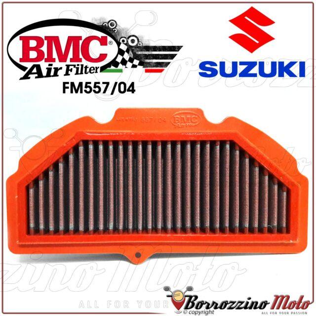 FILTRO DE AIRE DEPORTIVO LAVABLE BMC FM557/04 SUZUKI GSX-R 1000 2009 2010 2011