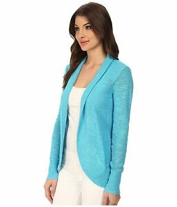Image is loading NEW-Lilly-Pulitzer-AMALIE-CARDIGAN-Searulean-Blue-Open- 7b60b61d7