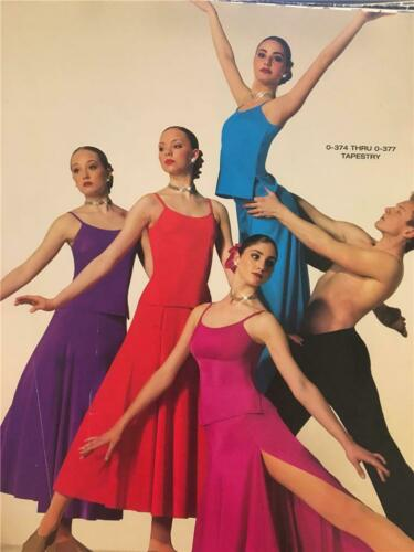 Details about  /Dance Costume Lyrical Ballet  Pageant  Magenta Art Stone Tapestry