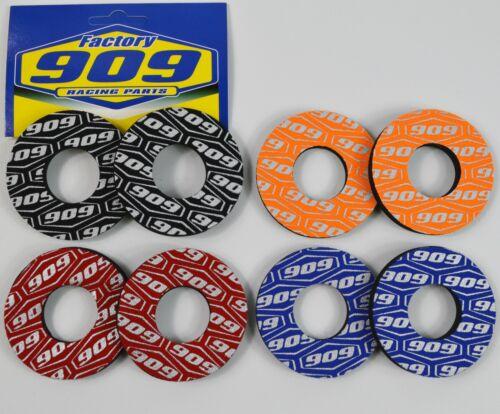 2 X 909 Griff Lenker Donuts MX Motocross Lenkergriffe Fahrrad Fabrik Schwarz