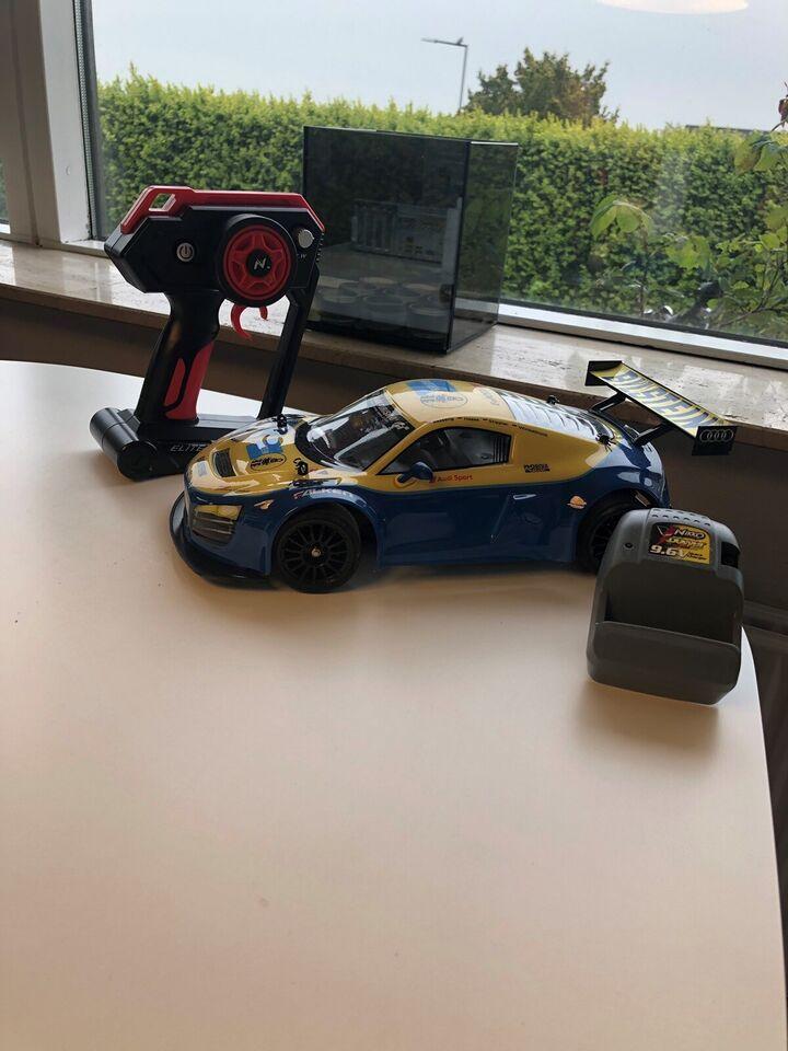 Fjernstyret bil, Nikko Audi R8 , skala 1:14