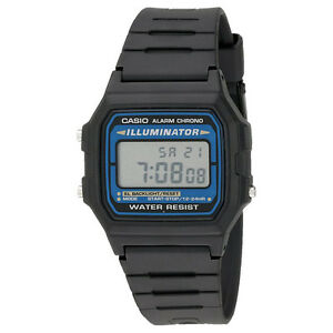 casio f105w 1a men 039 s classic water resistant illuminator image is loading casio f105w 1a men 039 s classic water