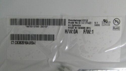 """AU Optronics B141PW01 V.1 LCD 14.1/"""" WXGA"""