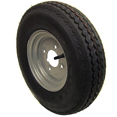 Daxara 6 PLY AB Tools 10 Trailer Wheel /& Tyre 4.00-10 with 115mm PCD for Erde