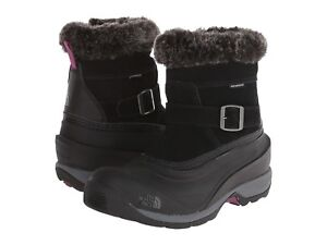 0e41249154 The North Face Women s Chilkat III Pull-On Boot (Blk Dark Purple ...