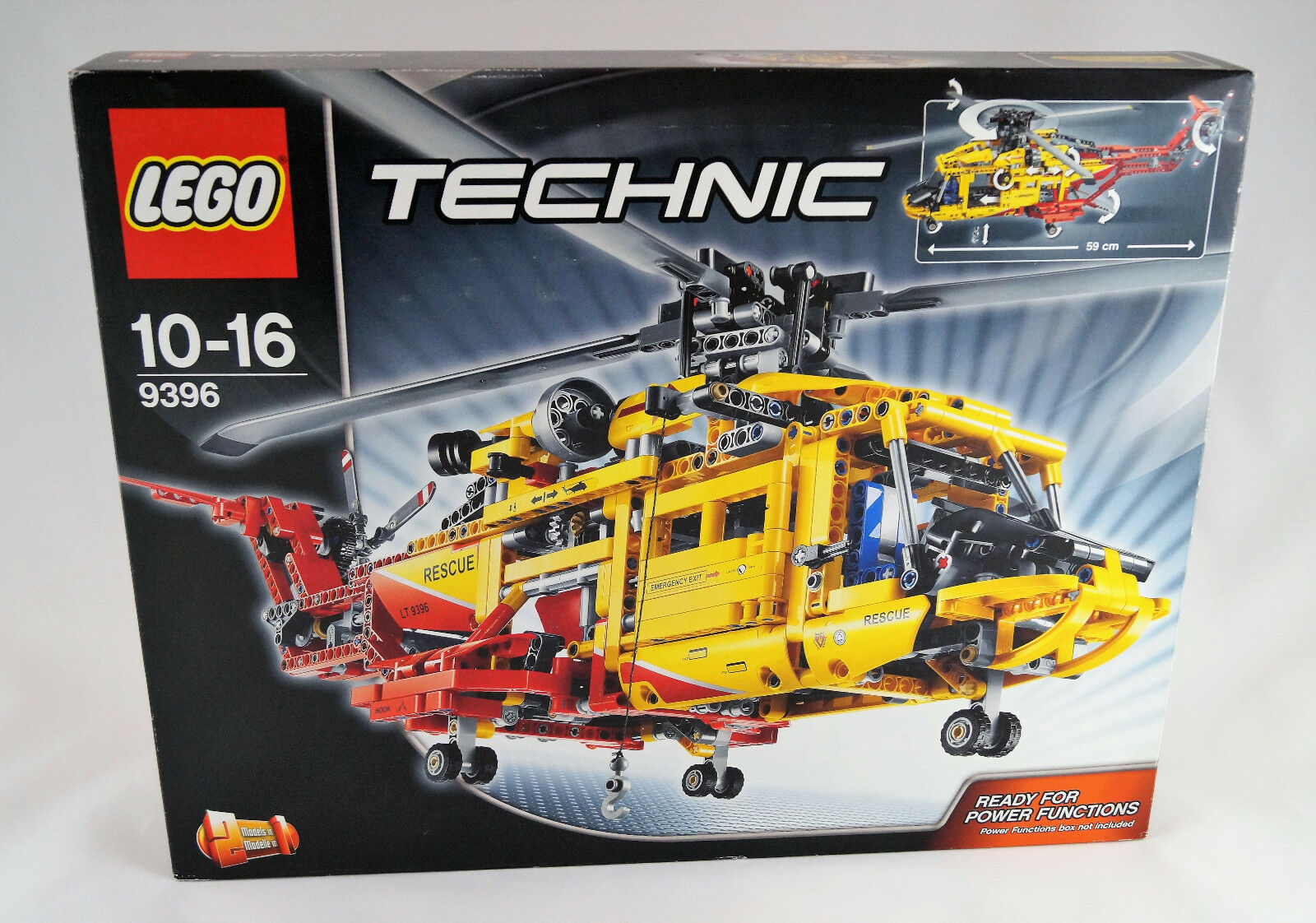 Lego Technic 9396 Großer Helikopter Neuware  New  Sealed