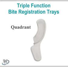 Dental Impression Bite Registration Trays Triple Function Tray Choose Size Amp Qty