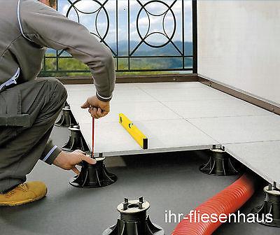Stelzlager Plattenlager höhenverstellbar NM1 b. 5 Terrassenplatten Feinsteinzeug