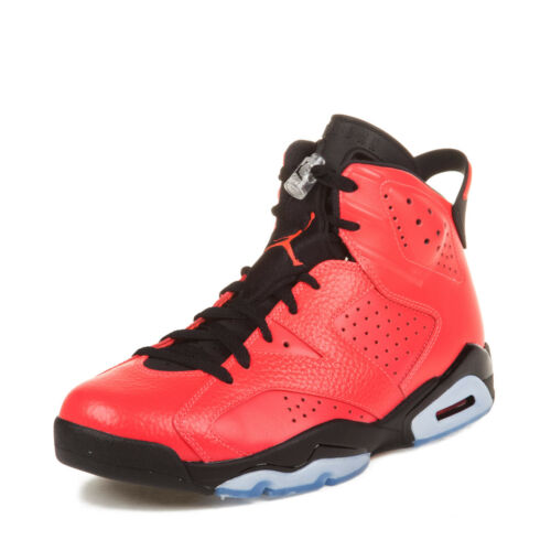 Nike Air Jordan 6 Retro Infrared 23 Toro 384664-623 Sz 9.5 100 Authentic