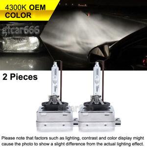 35W D2R HID Xenon Headlight Bulbs OEM Low Beam Light For Volvo 43K 5K 6K 8K 10K