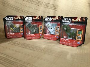 NEW-Collectible-Disney-Star-Wars-Box-Busters-Toy-Hoth-Yavin-Endor-Rebels-Speeder