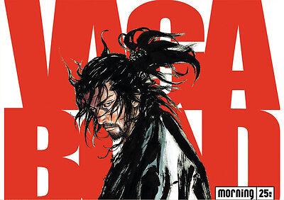 Sticker Autocollant Poster A4 Manga Vagabond. Samourai Miyamoto Musashi N°4.