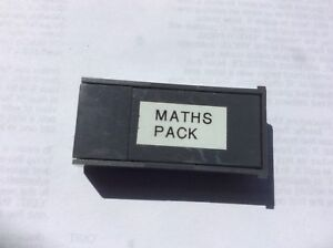 Psion-II-MATHS-software-on-a-32k-datapack