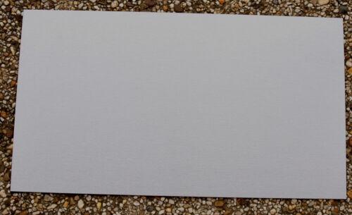 1m²=149,83  KS  Kydex Platte  Modellbau  Scheidenbau 300x200x1,8mm Silbergrau