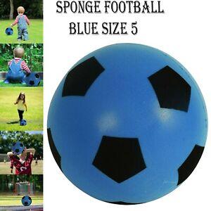 HTI TOYS /& GAMES Fun Sport BLEU Taille 5 FootballIndoor//Outdoor Soft éponge Foa